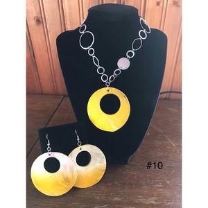 Retro 80's jewelry set
